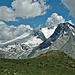 Hinter dem Hübschhorn versteckt sich das Breithorn