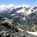 Auf dem Gipfel, Panorama (mit Limmerensee)