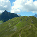 Nach dem Abstieg gehts über das Walser Alpjoch zum Tobelsee.