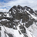 il versante settentrionale del Piz Murtaröl 3180 m (Cima la Casina), visto dal Piz Pala Gronda