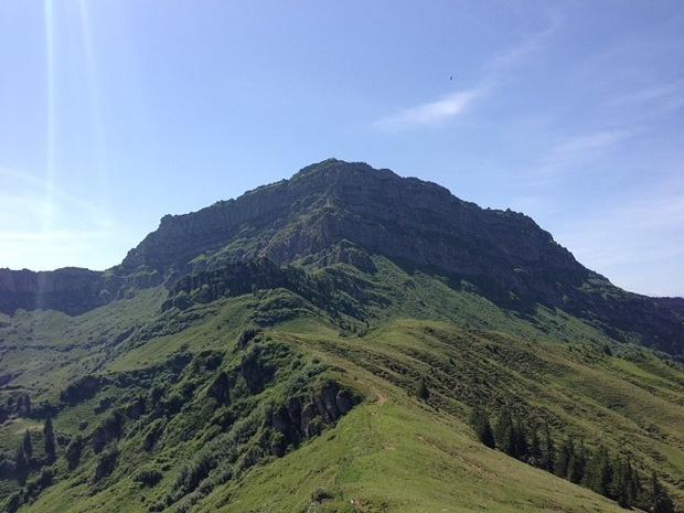 Klettersteig Speer : Kletterweg speer m u tourenberichte und fotos hikr