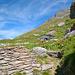 Die verlassenen Alpställe von Ecuries du Giétro