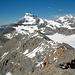 Der lange Grat des Mont Rouge du Giétro