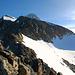 Blick zum P.3470 (Steinmann); dahinter der Gipfel der La Ruinette