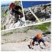 Klettern an der Westlichen Südwand von der Wisswand