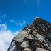Rübersichern zum Gipfelfirnfeld