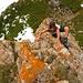 fakultatives Klettern am Spitzmantel