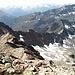 die letzten Meter zum Gipfel und der schöne W-Grat