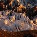 Letzte Sonnenstrahlen im Spaltenlabyrinth des Oberen Ischmeers