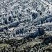 Gletscherdetails am Konkordiaplatz
