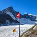 Erstmal n Ruhetag an der Finsteraarhornhütte, um den Schnee abtauen zu lassen