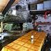 Blick in die Selbstversorgerhütte Alpe di Gösro