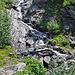 Bach unterhalb der Bortelhütten