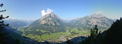 Sicht vom Chranzkopf.