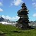 Passo Pianaccio: Blick zum Tramalitt 2295m, Grenze zu Italien