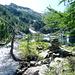 Lago di Sfii, 1909m: …..unbeschreiblich das plötzliche Ausweiten zu einem imposanten Talkessel