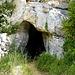 Eingang zur Grotte von Guery