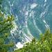 Abstieg ins Vergeletto - Tiefblick in die steilen Flanken des Rosso di Ribia