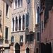 La casa di Carlo Goldoni (quella al centro)