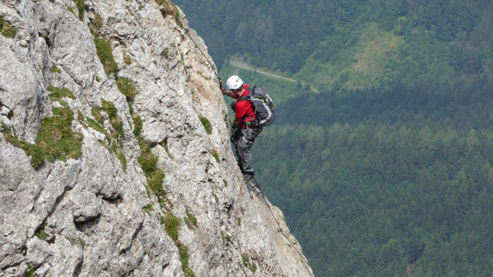 Klettersteig Hochlantsch : Hochlantsch klettersteig und schüsserlbrunn hikr