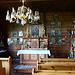 Das Innere der Kapelle.