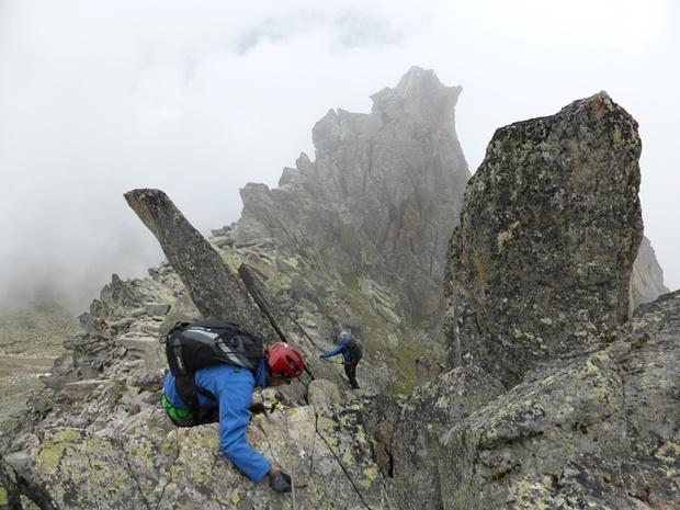 Klettersteig Eggishorn : Eggishorn klettersteig 2724m u2013 tourenberichte und fotos [hikr.org]