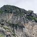 Colmetta, 2468, von Süden: mit Kreuz und Gemse rechts aussen