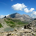 Herrlicher Blick von der Roten Chumme auf das Lohnermassiv, links Tschingellochtighorn.