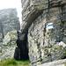 Bocchetta di Rierna, 2295m - Blauweisse Markierungen der Via Alta Verzasca
