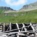 Alpe Lignasc, 1985m, - dahinter Bocchetta die Rierna 2295m