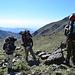 Aufstieg nach Piedra Grande