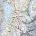 Mein GPS-Track.<br /><b>Copyrights Swisstopo 2007</b>