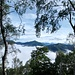 Oberhalb des Paradieses ein Blick in die himmlischen Gefilde.