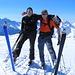 Auf dem Gipfel des Piz Grevasalvas 2932m