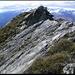 Tällistock, letzte Meter auf dem Grat zum Gipfel.