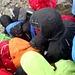 Schnee und Hagel auf 2800m gehoert erfahrungsgemaess auch dazu...