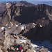 Alpine terrain on the last meters to the summit Plateau