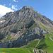 Hahnenschritthorn, Nordflanke