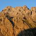 Hahnenschritthorn Westflanke im Abendlicht