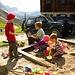 Kaum an der Schlüterhütte angekommen wird der nette kleine Spielplatz eruiert