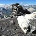 Bärenhorn, Gipfelrast.