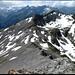 Bärenhorn, im mittleren Teil vom Südgrat. Tällihorn, das nächste Ziel, halbrechts.