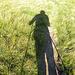 Die Schatten werden länger, es ist an der Zeit in die Hütte kommen