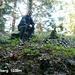 Im Dschungel auf dem Zugerberg (1039m). Kaum ein Sonntagstourist zum höchsten Punkt ;-)