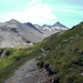 Blick auf die herrliche Gratroute zum Piz Blaisun, eine der schönsten Bergtouren die ich je gemacht habe.