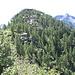 La Cima di Agazzoi sopra l'omonimo alpeggio.