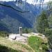 Il baricentro del Ticino, situato a poca distanza da in Cima alle Piode.