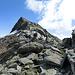 Passo di Ghiacciaione 2716 m und Pizzo Forno 2907 m
