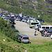 sonniges Wetter am Sonntag: die Parkplätze werden knapp