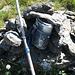Erdisgulmen - die als Gipfel kaum erkennbare Graskuppe - hat auch ein Gipfelbuch (das ich auch beinahe übersehen hätte)